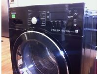SAMSUNG, Quiet Drive , Black + Chrome, 7.0kg WASHER DRYER + 3 Months Guarantee + FREE LOCAL DELIVERY