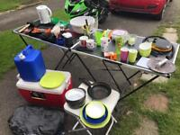 Job lot of camping stuff