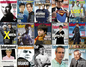 Entertainment Weekly EW ~ (1990 to 2008) 600+ Issues