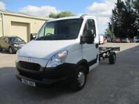 2013 Iveco Daily S Class 2.3TD 35S11 LWB cab and chassis diesel 1 owner pas