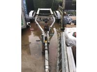 Boat trailer American Escort with hydraulic brakes