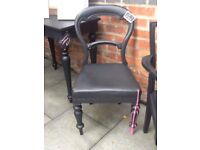 Variety of up cycled chairs sold separately