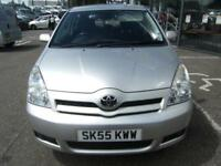 7 SEATER!! 2005 55 TOYOTA COROLLA 1.8 VERSO T3 VVT-I 5D 128 BHP **** GUARANTEED FINANCE ****