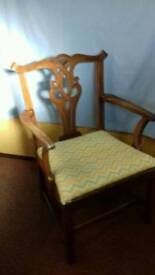 Chippendale stlye carver chair