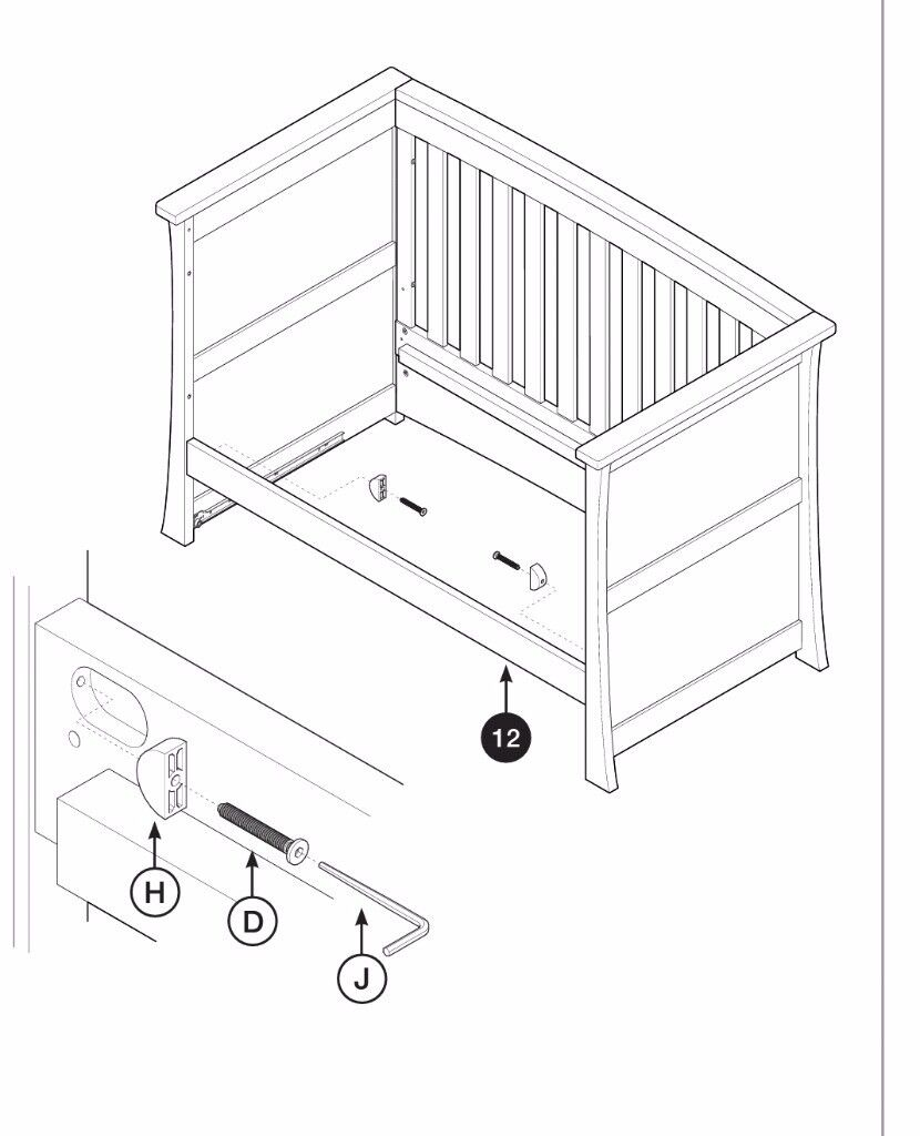 Image Result For Ikea Baby Bed