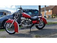 Yamaha 535 virago. 12 mth mot. Indian lookalike. Custom cruiser bobber