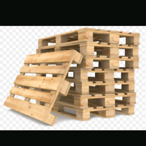 Looking for good condition wood pallets (10-12)