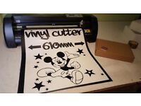Fully Loaded Vinyl Cutter & Computer for Wall art - Signs - Stickers - Van signs