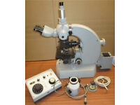 Zeiss Universal lab microscope + light + Camera control