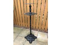 Ornamental Heavy Wrought Iron Stand