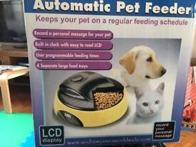Andrew James automatic pet feeder
