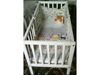 Brand new baby cot