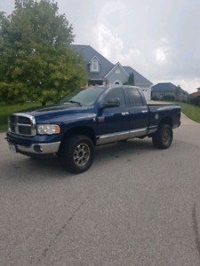 MINT dodge ram 3500 turbo diesel quad cab