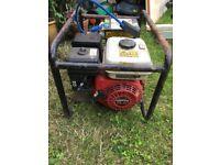 Honda Gx 160 electric generator