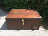 Mahogany Wooden chest/trunk