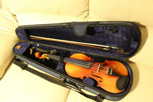 Full size violin with bow and case - $350 or best offer