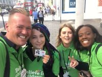 Charity Street Fundraiser £296-£441 pw + Uncapped Bonus! No Experience Necessary - Immediate Start