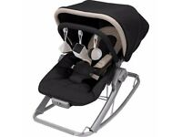 Excellent condition and fully boxed Maclaren Baby Rocker-Black/Champagne
