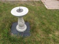 Garden sundial