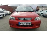 Mazda Demio Red 1.4 Low Mileage 5 Door Hatchback Petrol