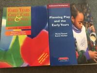 Early Years / Childcare / Education Study books