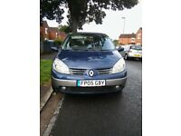 2005 7-Seater Sporty Renault Grand Scenic - Metalic Blue