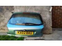 Peugeot 206 complete boot
