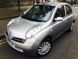 2003 NISSAN MICRA 1.2SE 5 DOOR 1 YEAR MOT