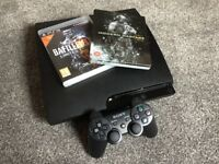 PlayStation 3 Slim (320Gb) - with games | PRICE REDUCED