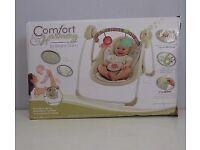 Bright Starts Comfort & Harmony Cozy Kingdom Portable Swing