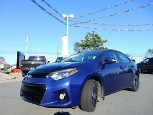 2014 Toyota COROLLA S PACK!!!  MANUAL WITH ROOF!!! SPORTY!