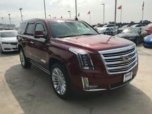 2016 Cadillac Escalade Platinum AWD (Just 12,800 kms) Red