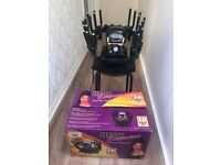 SALON Heat Express 16 Piece Tongs and Stove Kit & Remington Pro-Air Turbo Dryer