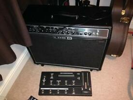 Line 6 spider valve mk2 212 with FBV shortboard