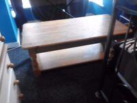 Large Beechwood table