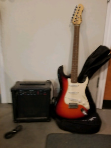 Axion Electric Guitar and amp
