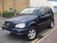 MERCEDES M CLASS ML270 ML 270 CDI AUTOMATIC DIESEL **** 7 SEATER **** 5 DOOR HATCHBACK