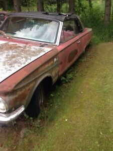1964 Plymouth Valiant convertible parts