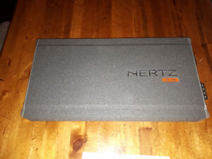 Hertz EP4X 4-channel amp, never used!
