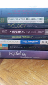 8 Psychology Textbooks from LU