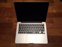 "13"" Apple MacBook Pro Retina 2.4Ghz i5 8GB 500GB SSD Logic Pro X Cubase Ableton FL Studio 12 Reason"