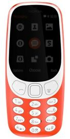 Nokia 3310 (2017) grey and red