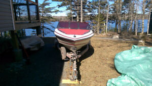 1998  Sunbird with 50HP Johnson Outboard