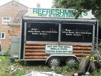burger van/ catering trailer for sale
