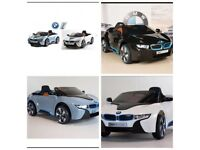 BMW i8, Ride-On , 12v, Parental Remote Control, Self Drive, Lights
