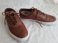 Ralph Lauren POLO Vaughn Brown Leather Shoe