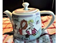 Tea Pot - Dieting is like a Chocolate Teapot *** a waste of time