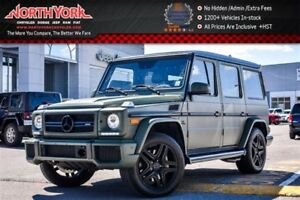 2015 Mercedes-Benz G-Class AMG|4Matic|Designo Leather Pkg|Matt G