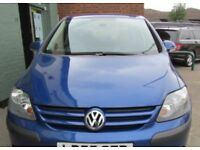 VOLKSWAGEN GOLF PLUS 1.6 PETROL FULL YEAR MOT EXCELLENT CONDITION DRIVES REALLY WELL