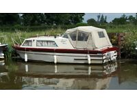 Canal /river boat Sea master 25